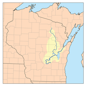 The Fox and Wolf Rivers in Northeastern Wisconsin